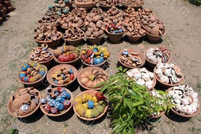 Pottery on the market
