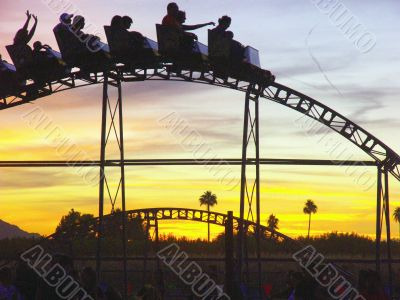 Sunsets and roller coasters