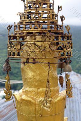 Golden spire