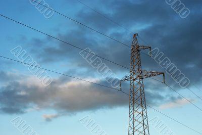 Hight voltage line