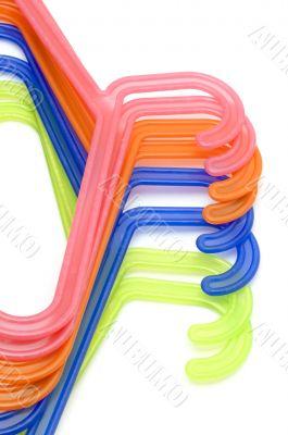 color hanger close up