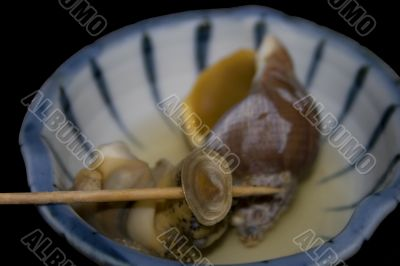 Asian Snail Dinner