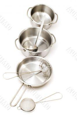Metal kitchen utensil