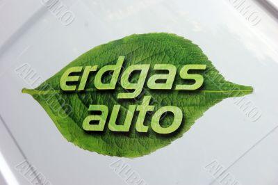 Labels gas car