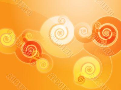 Swirly spiral background