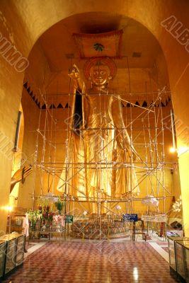 Buddha on the Mandalay hill