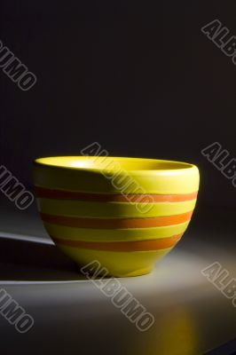Traditional Asian tea cup