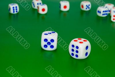 Cubes for gambling