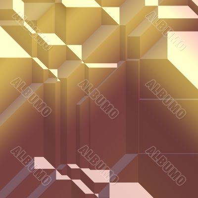 Angular geometric shapes