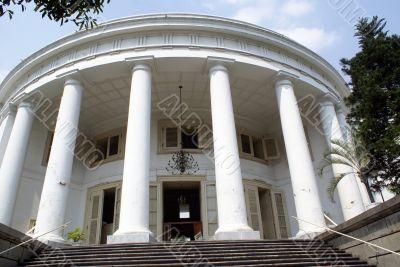 Staircase and facade