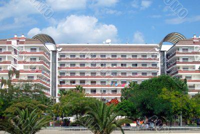 Spanish tourist hotel