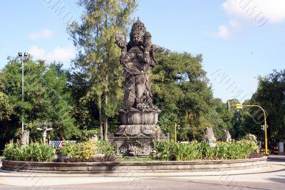 Vishnu on the circle