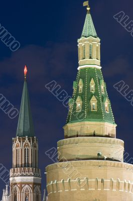 Kremlin Tower closeup