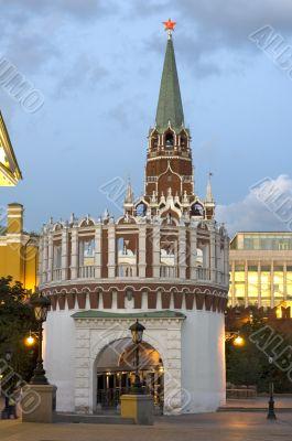 Kremlin Tower with star