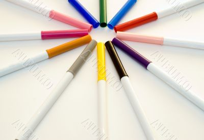 Coloring Markers