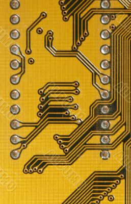 yellow computer plate