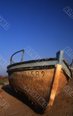 a retired fishing boat 2