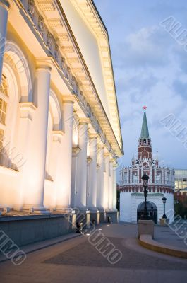 Kremlin Tower and manege
