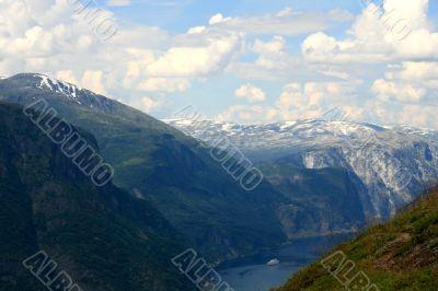 Fjord in Western Norway