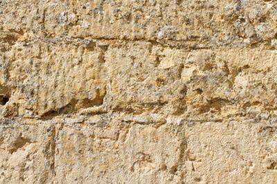 aged sandstone background