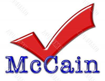Vote McCain Poster