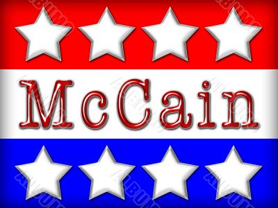 McCain Election Poster