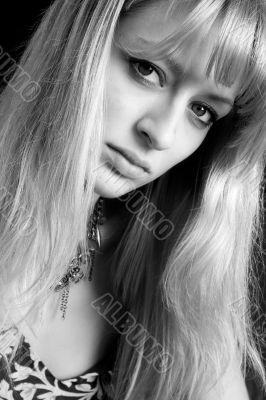 Sexy blond portrait