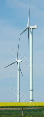 Two windturbines