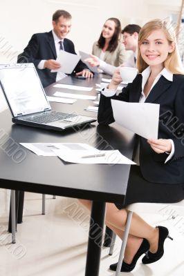 Specialist at work
