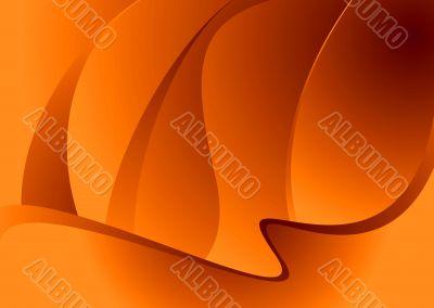 negative orange glow