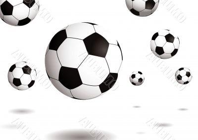football bounce shadow