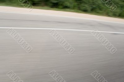 Snapshot of asphalt in Motion