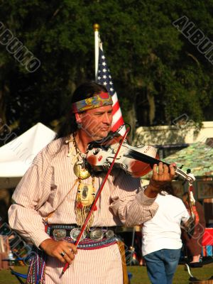 Native American Entertainer