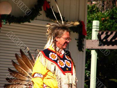 Plainsman at Powwow