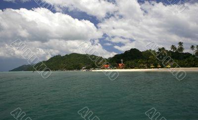 Phi Phi Don Coastline