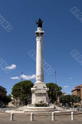Obelisk of victoria square