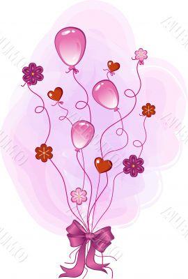 pink congratulation