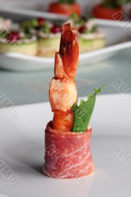 shrimp for a gourmet
