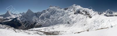 Mountain circus panorama