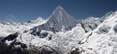 Summit piramide panorama