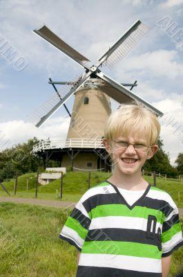 Boy in Holland
