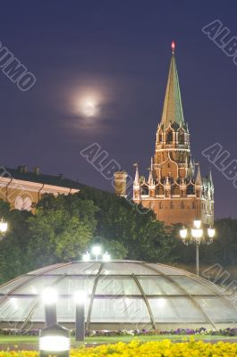 Moscow Kremlin Towers