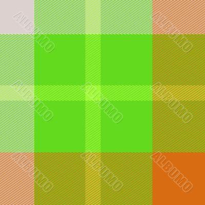 Tartan plaid pattern