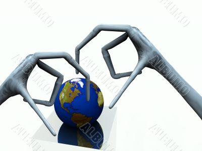 Alien World Grab