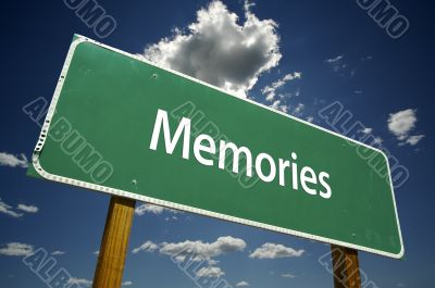 Memories Road Sign