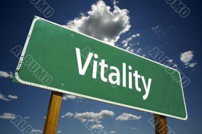 Vitality Road Sign