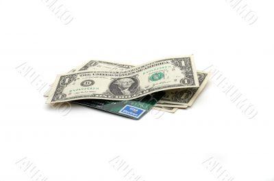 Money and VISA card