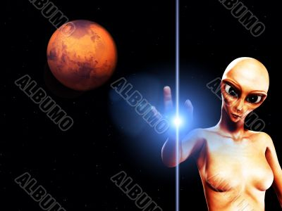 Alien Female Hybrid