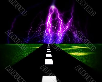 Lighting Road
