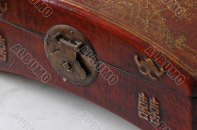 Detail of beautiful chinese box